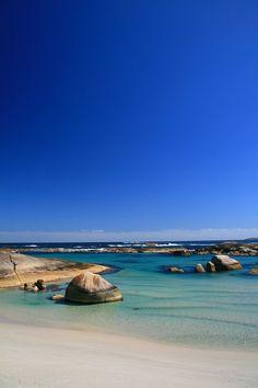 ✯ Elephant Rocks Beach, Western Australia... so blue! www.livewildbefree.com Cruelty Free Lifestyle & Beauty Blog. Twitter & Instagram @livewild_befree