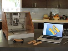 KICKSTARTER CAMPAIGN :: An awesome mashup between a milling machine and 3-D printer, created in El Segundo, CA, with all internal parts manufactured locally -- (( The Nomad CNC Mill by Carbide 3D LLC ))