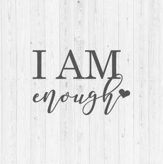 I Am Confident Svg I Am Strong Svg I Am Beautiful Svg Inspirational Svg Confidence Svg Boss Mom Svg Strong Woman Svg Positivity Svg Cricut