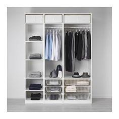 pax garderobekast met inrichting ikea gratis 10 jaar garantie raadpleeg onze folder voor de. Black Bedroom Furniture Sets. Home Design Ideas