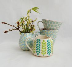 Katrin Moye, Soren and Tiny Hoops tableware