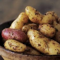 Herb-Roasted Fingerling Potatoes with Whole-Grain Mustard Recipe