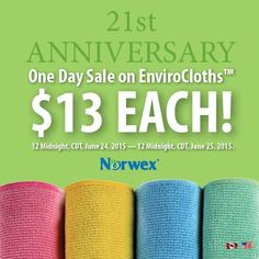 Norwex Enviro Cloth