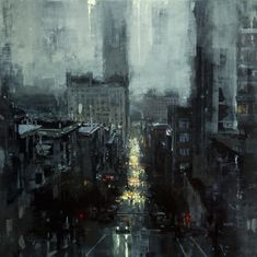 The City Tempest by Jeremy Mann