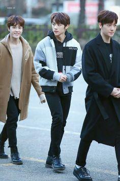 171208 the boyz music bank Hot debut Korean Fashion Men, Kpop Fashion, Joo Haknyeon, I Got Your Back, Chang Min, Fandom, Kim Sun, Attractive Guys, Lee Sung