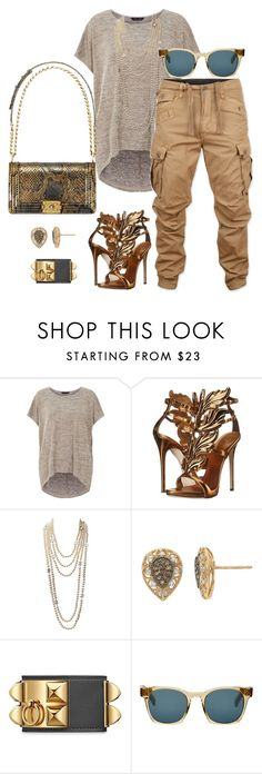 """""""Tomboy"""" by fashionkill21 ❤ liked on Polyvore featuring G-Star Raw, Giuseppe Zanotti, Chanel, YellOra and Oliver Peoples"""