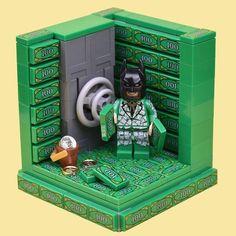Earlier this year I created some vignettes using the Batman Movie CMF for the Brickfanatics Website. Legos, Batman Lego Sets, Lego Memes, Lego Furniture, Lego Display, Lego Pictures, Lego Boards, Amazing Lego Creations, Lego Craft