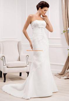 Glamouröse Dramatische Hochzeitskleider aus Organza
