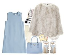"""SCREAM QUEENS."" by samhoran95 ❤ liked on Polyvore featuring Topshop, Prada, Chanel, Valentino, Dorothy Perkins and ScreamQueens"