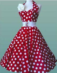 Cute Retro Summer Dress