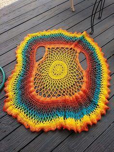 Suncatcher Circle Vest - Ravelry: Suncatcher Circle Vest pattern by Silver Moon Crochet Imágenes efectivas que le proporcion - Crochet Circle Vest, Crochet Baby Pants, Crochet Circles, Crochet Mandala, Crochet Shawl, Crochet Yarn, Crochet Clothes, Crochet Bracelet, Crochet Gifts