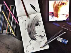 [bo] Bic e matita su carta.  2014 Art