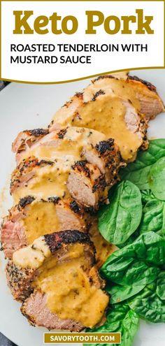 Pork Recipes For Dinner, Pork Roast Recipes, Meat Recipes, Recipies, Pork Dinner Ideas, Best Pork Roast Recipe, Lamb Recipes, Chili Recipes, Sauce For Pork Tenderloin