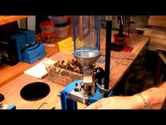 Reloading on a Dillon 550B: Powder die and measure install - YouTube