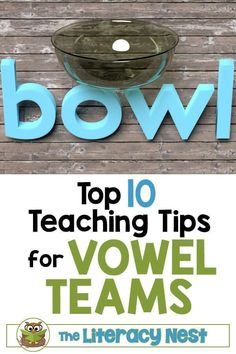 If you've been searching for appropriate resources for your Orton-Gillingham lesson plans be sure to check these top 10 teaching tips for vowel teams at The Literacy Nest Dyslexia Activities, Phonics Activities, Learning Disabilities, Language Activities, Reading Activities, Team Teaching, Teaching Tips, Teaching Vowels, Reading Strategies