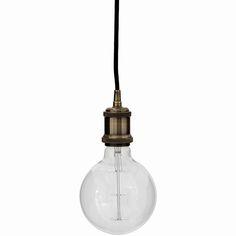 Light Bulb Pendant - Bronze | Weylandts South Africa
