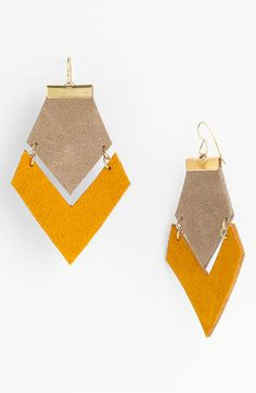 Daly Bird Colorblock Earrings available at #Nordstrom