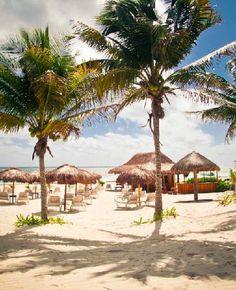 Unico Beach . Puerto Morelos .Mexico
