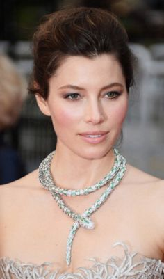 Jessica Biel - Cannes  - 2013 To read how I created this look and to see the products that I used, click on my blog here http://www.lisaeldridge.com/blog/25734/jessica-biel-at-cannes/ #Makeup #Beauty #LisaEldridge