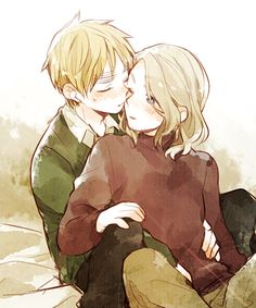 Hetalia ~ England and France