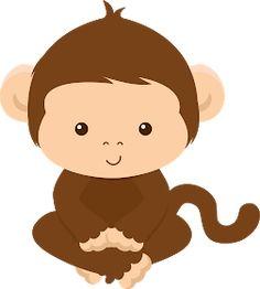 Photo by - Minus: Printable, Clipart Minus, Art Http Jungle Party, Safari Party, Safari Theme, Jungle Theme, Clipart Baby, Jungle Animals, Baby Animals, Cute Animals, 2 Baby