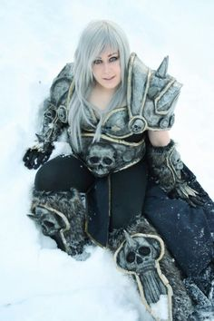 Female Arthas from Warcraft
