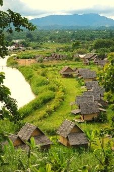 Pai, Thailand (best tea and curry ever tasted). Relax in this village