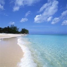 Caribbean Islands. Beautiful beach, blue and clear water - just as I remember it..