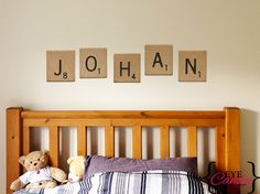 Dimensions Height: Description: Scrabble vinyl wall stickers -SOLD PER LETTER - Order the quantity of letters you require to spell the name or word you would like- PER LETTER. Vinyl Wall Stickers, Vinyl Wall Art, Decals, Scrabble, Cribs, Lettering, Bedroom, Furniture, Home Decor
