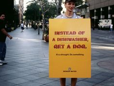 Denver Water campaign 2005. Agency: Sukle Advertising & Design. Water conservation. #water #denver #waste
