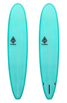 "ParaParagon Modern Noserider 9'0"" Sea Green Surfboard   Waves and Skies"