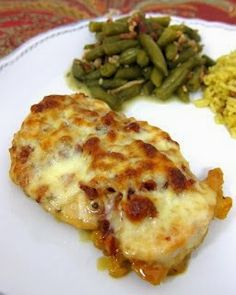 An Expat Cooks: Cheesy Honey Mustard Chicken
