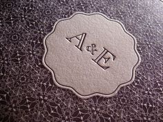 Letterpress Wedding - Dolce Cover