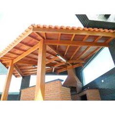telhados para churrasqueira - Pesquisa Google
