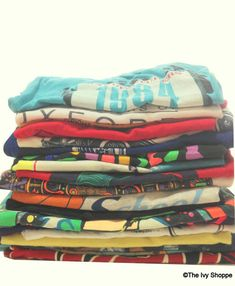 80s and 90s Vintage T-Shirts Mystery Style Cotton by cuffNroll