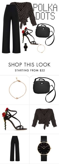 """Hold on"" by thefashionguilty ❤ liked on Polyvore featuring Dolce&Gabbana and CLUSE"