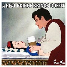 A real prince brings coffee. Happy International Coffee Day Daily Humor An occasion to celebrate coffee A real prince brings coffee. Happy International Coffee Day Daily Humor An occasion to celebrate coffee Coffee Talk, Coffee Is Life, I Love Coffee, My Coffee, Coffee Lovers, Morning Coffee, Coffee Girl, Coffee Cozy, Coffee Creamer