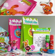 MOSHI MONSTER PRE FILLED & PERSONALISED PARTY BAG / GIFT BAG