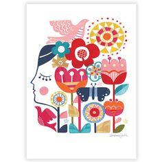 The Dreamer Print van Andrea Smith
