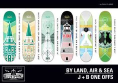 Blueprint  Skateboard graphics  Skateboarding  By land, air and sea