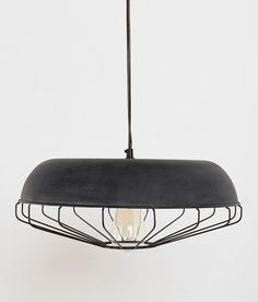 Caged Pendant Lamp: Remodelista