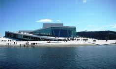 Oslo Opera House. #architecture #city #buildings #design #minimal #geometric #perspective #oslo #norway #opera #museum #scandinavia @kjoreproject