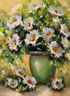 Artwork Pop-up - Fly Free Daisies and a New Daisy Video by Floral Artist Nancy Medina