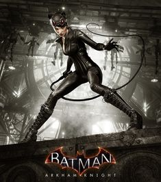 Batman Arkham Knight - Catwoman's Revenge DLC, Tomasz Namielski on ArtStation at https://www.artstation.com/artwork/9yOOW