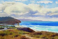 Clouds Over Torrey Pines by Mary Helmreich
