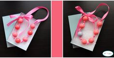 This is such a cute idea for a little girls birthday party as a party favor!  Love it!