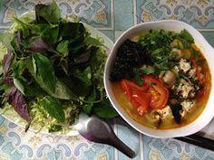 Vegan Việt Nam : Bếp Chay Thanh Nhẹ: Bún chay ngày rằm