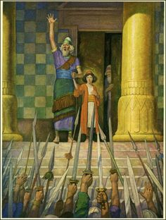 """N.C. Wyeth, """"Children of the Bible"""" 1929. Courtesy: Wonderful, Beautiful and Strange Finds"""