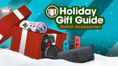 Top Nintendo Switch Accessories - GameSpot Holiday Gift Guide 2017  ||  Need gift ideas for Switch owners? We have you covered! A controller, headset, case, portable charger, or SD card for Nintendo's new console would be much appreciated. https://www.gamespot.com/videos/top-nintendo-switch-accessories-gamespot-holiday-g/2300-6442196/?utm_campaign=crowdfire&utm_content=crowdfire&utm_medium=social&utm_source=pinterest