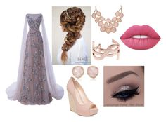 """Untitled #59"" by olivia-huffer on Polyvore featuring Jessica Simpson, Monica Vinader, Yves Saint Laurent and Lime Crime"